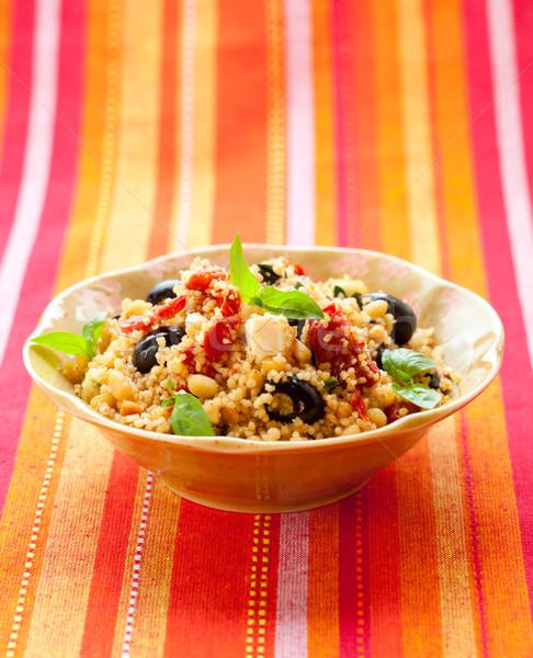 couscous salad Stock photo © sarsmis
