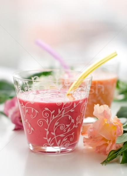Fruit Smoothies Stock photo © sarsmis