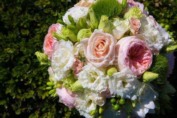Wedding bouquet Stock photo © sarymsakov