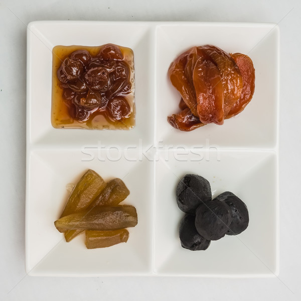 Arab édesség csemege közel-keleti országok népszerű Stock fotó © sarymsakov