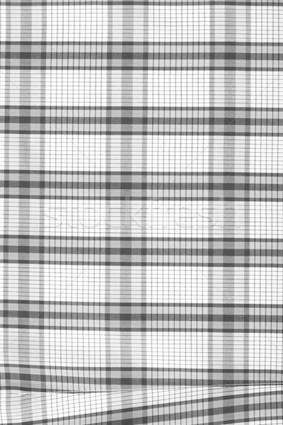 Soyut geometrik siyah beyaz baskı kumaş Stok fotoğraf © sarymsakov