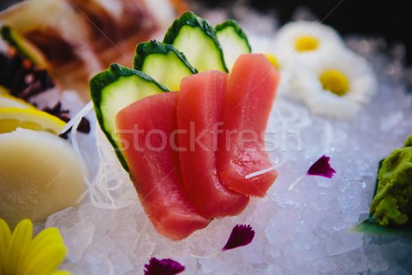 Tuna Sashimi Stock photo © sarymsakov