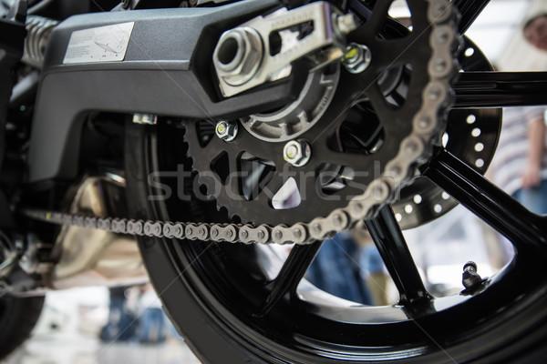 Motorcycle drive chain Stock photo © sarymsakov