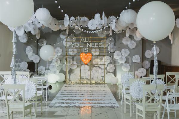 Ahşap kemer düğün töreni sandalye parti sevmek Stok fotoğraf © sarymsakov