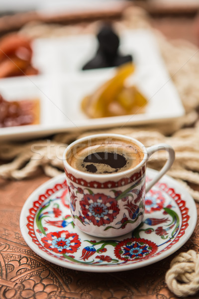 Turkish coffee Stock photo © sarymsakov