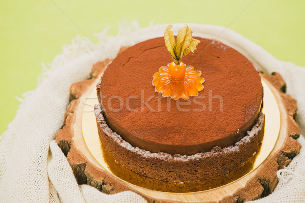 Sweet buffet delicious homemade vegan cake. Stock photo © sarymsakov
