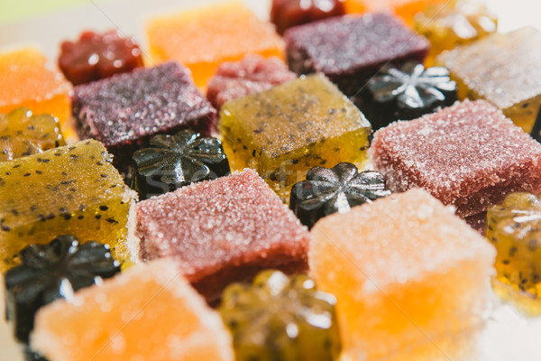 candied fruit jelly Stock photo © sarymsakov