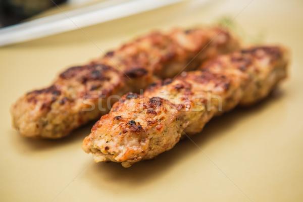 kebabs Stock photo © sarymsakov