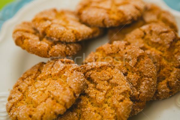 Oatmeal Cookies with Warm Fall Colors Stock photo © sarymsakov