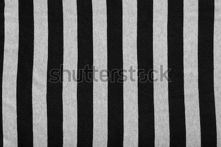 Streszczenie geometryczny czarno białe wydruku tkaniny Zdjęcia stock © sarymsakov