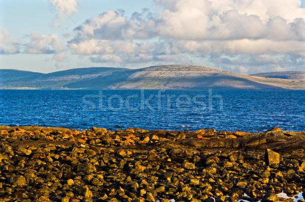 Ierland stad foto Maakt een reservekopie Stockfoto © sbonk