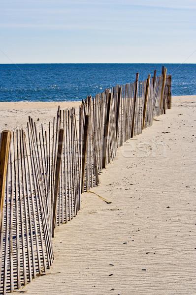Fence on the Beach Stock photo © sbonk