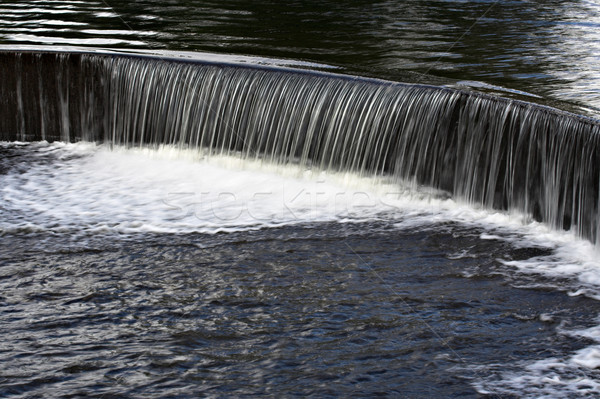 Water Over a Dam Stock photo © sbonk