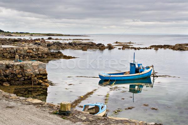 Boat on Galway Bay Stock photo © sbonk