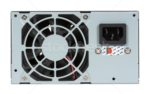 Computer Power Supply and Fan Stock photo © sbonk