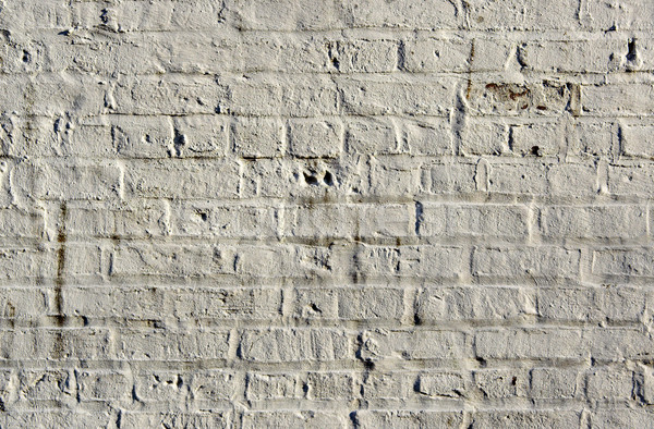 Witte baksteen muur tonen detail patronen Stockfoto © sbonk