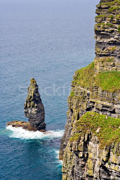 Ierland oceaan kustlijn water natuur Stockfoto © sbonk