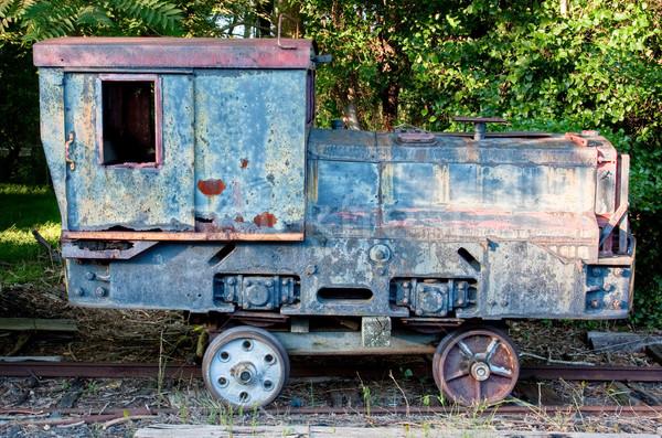 Old Train Car Stock photo © sbonk