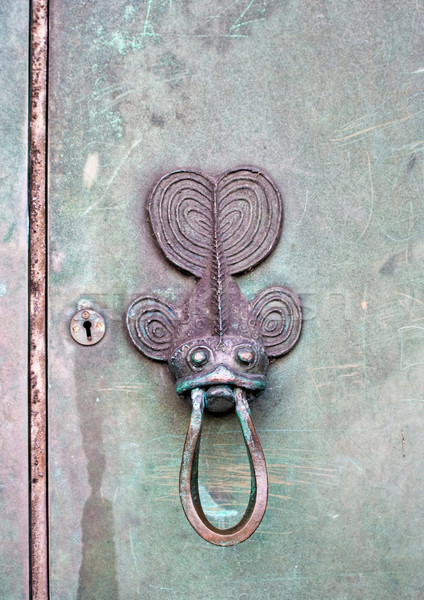 Fish Door Knocker Stock photo © sbonk
