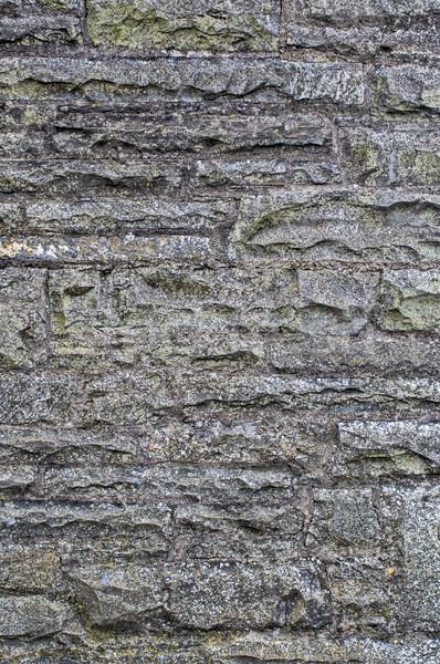 Stenen muur kan gebruikt textuur gebouw bouw Stockfoto © sbonk