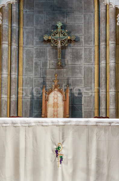 Iglesia altar dentro romana católico Foto stock © sbonk