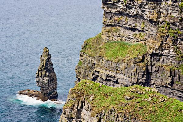 Ierland oceaan kustlijn water landschap Stockfoto © sbonk