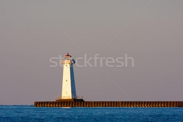 Sodus Bay Lighthouse Stock photo © sbonk
