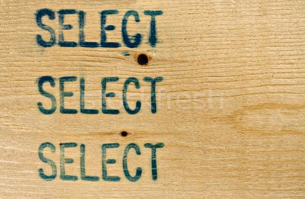 Select 2X4 stud Stock photo © sbonk