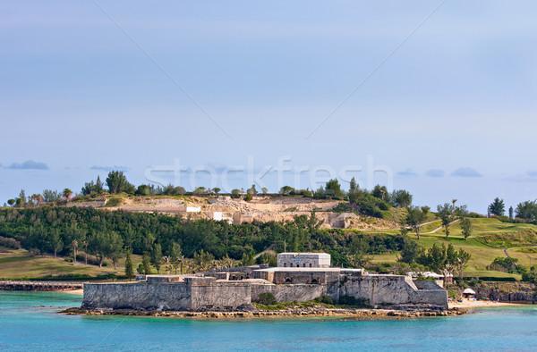 Fort St. Catherine Stock photo © sbonk