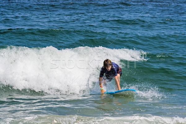 Surfista surf océano cuerpo Foto stock © sbonk