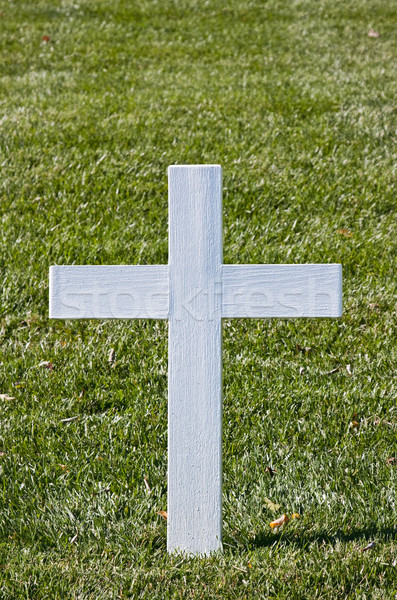 White Christian Cross Stock photo © sbonk