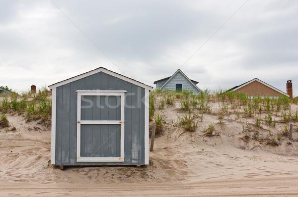 Storage Shed on Beach Stock photo © sbonk