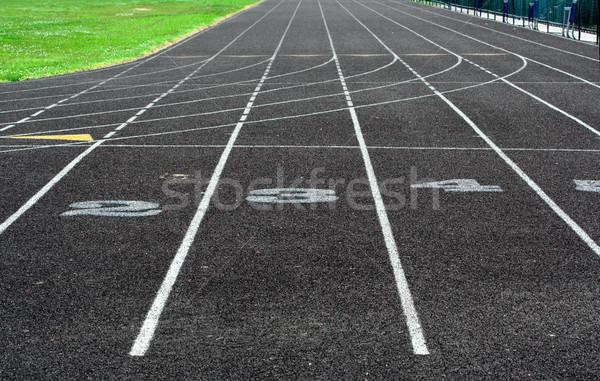 Track Stock photo © sbonk