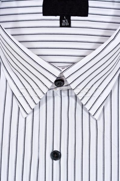 Jurk shirt gevouwen witte jurk vulling business Stockfoto © sbonk