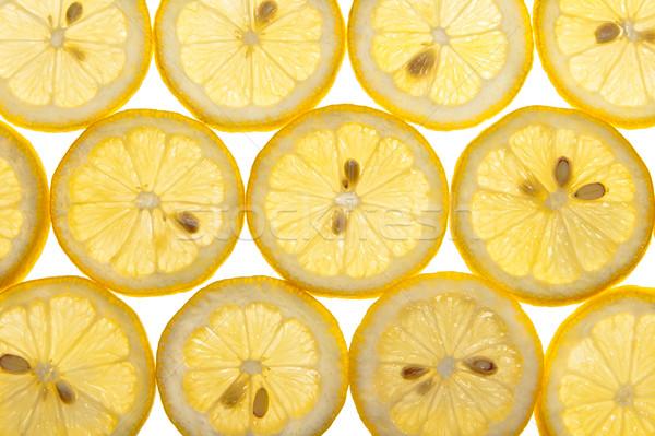 Fresco isolado branco fruto coquetel Foto stock © scheriton