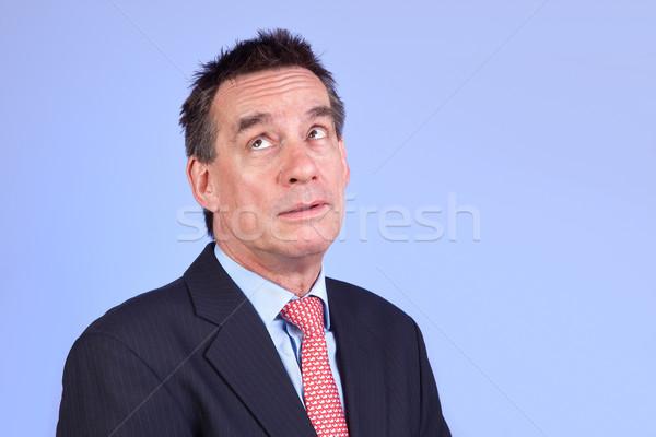 Exasperated Annoyed Business Man in Suit Stock photo © scheriton