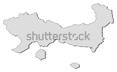 Map of Rhineland-Palatinate (Germany) Stock photo © Schwabenblitz