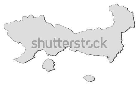карта Германия аннотация фон связи черный Сток-фото © Schwabenblitz