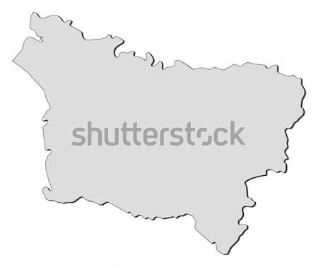 Mapa Albania político resumen mundo Foto stock © Schwabenblitz