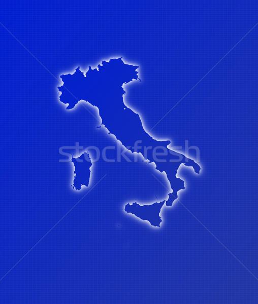 Stock photo: Map of Italy