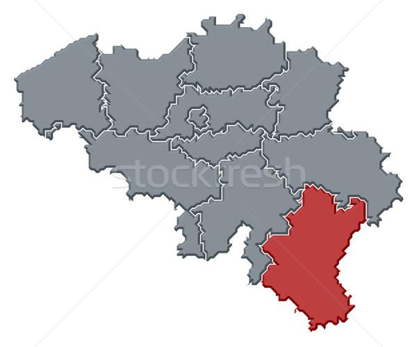 Pokaż Belgia Luksemburg polityczny kilka streszczenie Zdjęcia stock © Schwabenblitz
