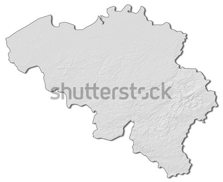 Map of Cantabria (Spain) Stock photo © Schwabenblitz