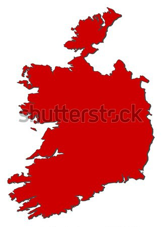 Map - Ireland Stock photo © Schwabenblitz