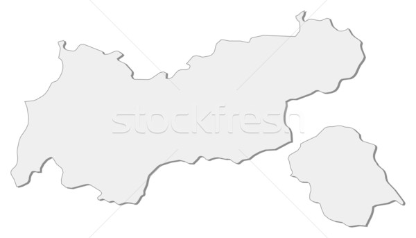 Map of Tyrol (Austria) Stock photo © Schwabenblitz