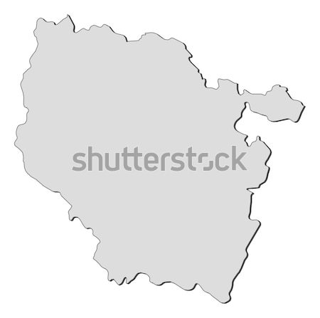 Map of Shanxi (China) Stock photo © Schwabenblitz