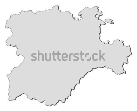 Térkép absztrakt háttér kommunikáció fekete tégla Stock fotó © Schwabenblitz