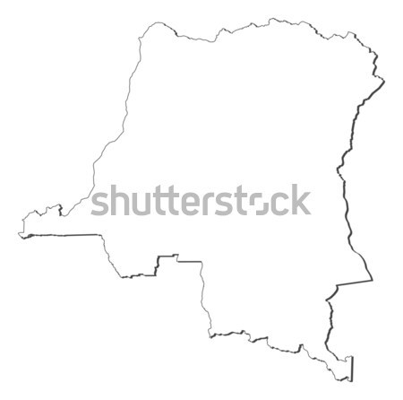 Map - Sierra Leone Stock photo © Schwabenblitz