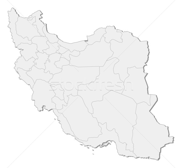 Map of Iran Stock photo © Schwabenblitz