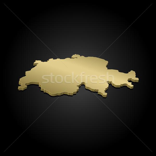 Harita siyasi birkaç soyut dünya arka plan Stok fotoğraf © Schwabenblitz