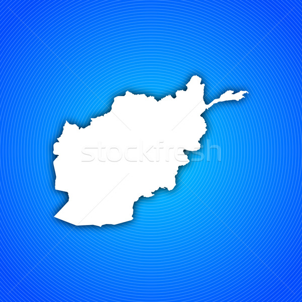 Map of Afghanistan Stock photo © Schwabenblitz